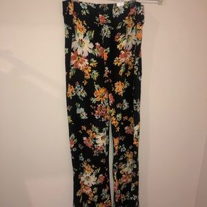 Floral Zara flare pants